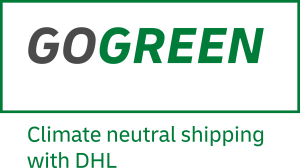 DHL go green intyg om klimatneutrala transporter Åj Distribution