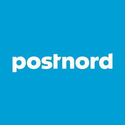 Logotype Postnord - leverantör till ÅJ Distribution