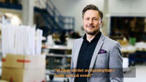 Fredrik Ringström, CEO ÅJ DistributionAB